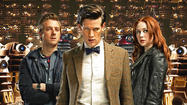 "After three years of starring as Amy Pond and Rory Williams in ""Doctor Who,"" Karen Gillan and Arthur Darvill sometimes talk as if they are one person."