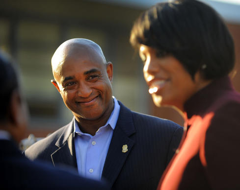 Baltimore Mayor Stephanie Rawlings-Blake comments briefly about the decision to hire as Police Commissioner, Anthony Batts, who comes from Oakland, CA to head the force.