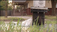 Neighbors upset about week-long water leak