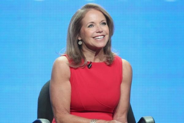 Talk show host Katie Couric speaks at the 2012 Summer TCA Tour at The Beverly Hilton Hotel on July 26, 2012 in Beverly Hills, Calif.