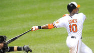 Adam Jones ends homerless slump with the 100th of his career