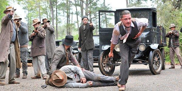 "Shia LaBeouf, right, in a scene from ""Lawless."""