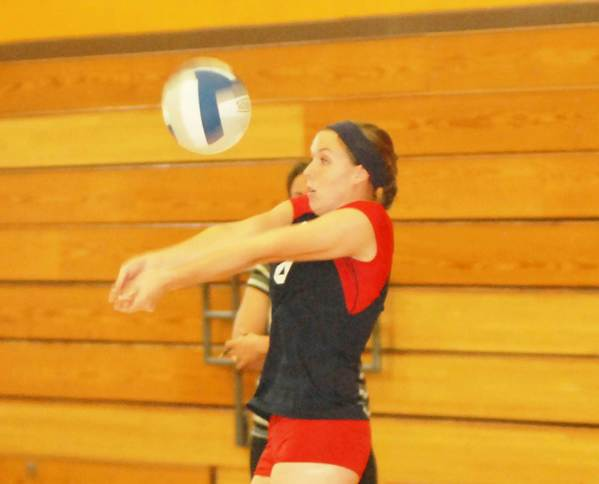 Paige Hornbeck and her Boyne City High School volleyball teammates will take to the court at noon, Thursday, Aug. 30, for a match against Charlevoix as part of Rambler Day at Boyne City High School.