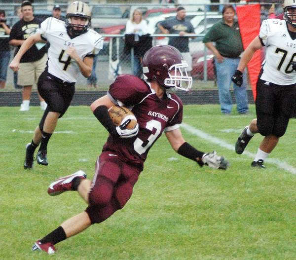 Charlie Hamilton and his Charlevoix High School football teammates go to Maple City Glen Lake on Thursday, Aug. 30, for a non-league game.