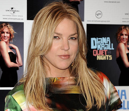 Singer Diana Krall celebrates her 46th birthday today.