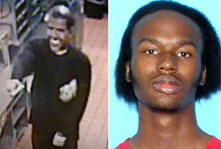 Marvin Joshua McTeare, right, is suspected of donning a 'Barack Obama'-type mask in a McDonald's robbery in January 2012.