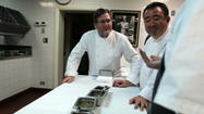 Inside Charlie Trotter's kitchen