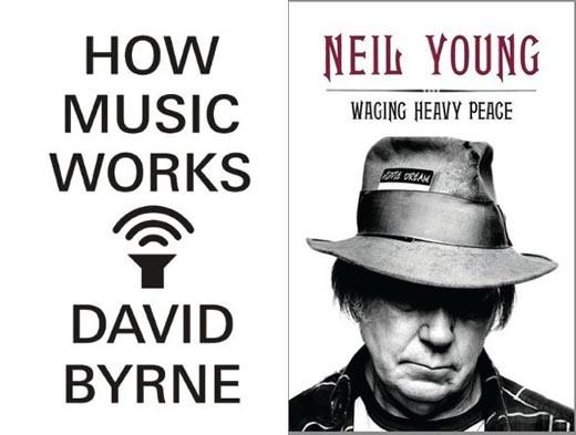"Multitalented musician David Byrne tells us ""How Music Works"" -- and when the frontman of The Talking Heads talks music, we're going to listen. And rock god Neil Young turns to memoir with ""Waging Heavy Peace."" We can't wait to hear the stories he has to tell."