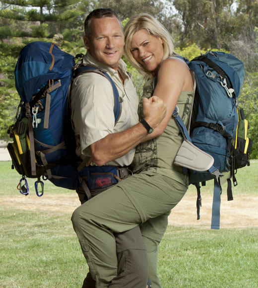 'The Amazing Race 21' cast pictures: Name: Rob Scheer Age: 52 Hometown: Ketchikan, Alaska Current occupation: Lumberjack and Entrepreneur   Name: Sheila Castle Age: 44 Hometown: Pigeon Forge, Tenn. Current occupation: Retail Manager Connection: Engaged