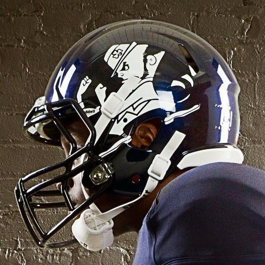 Notre Dame's special helmet is sure to tick off Anthony Fasano