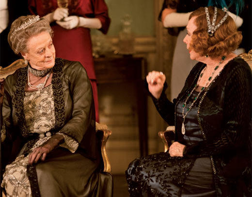'Downton Abbey' Season 3 photos: Maggie Smith and Shirley MacLaine