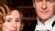 Laura Carmichael and Robert Bathurst