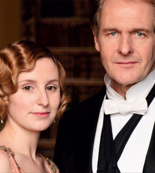 'Downton Abbey' Season 3 photos: Laura Carmichael and Robert Bathurst