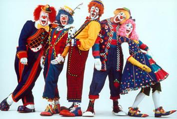 Ringling Bros. Barnum & Bailey clowns