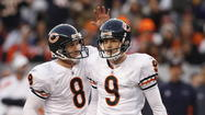 Bearing down with ... Robbie Gould and Adam Podlesh