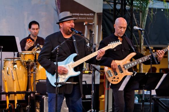 Award-winning singer Christopher Cross performs at the 2012 Acura Celebrity Event on the Festival of Arts grounds Saturday night.