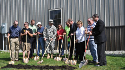 ralphton water project groundbreaking