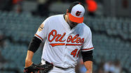 Orioles left-hander Joe Saunders acknowledged he carried some extra adrenaline into his first start with his new team Wednesday night.