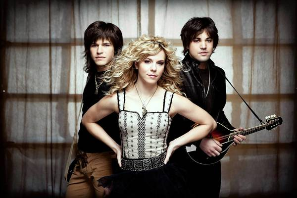The Band Perry -- siblings Reid (left), Kimberly and Neil Perry -- performs Aug. 31 at the Allentown Fair.