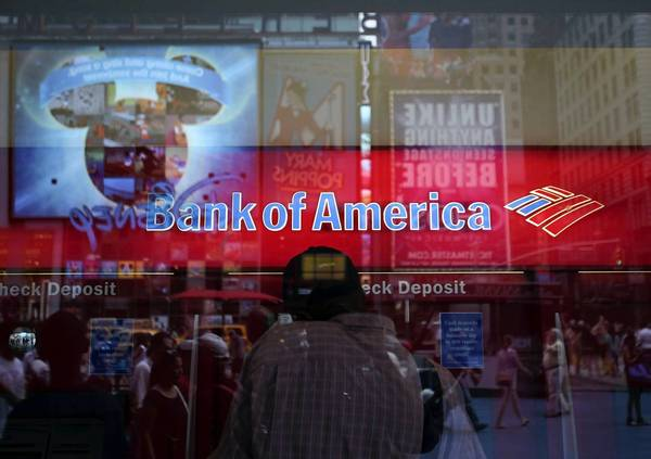 Bank of America Corp. says it is adopting plain-language disclosures that fit on a single sheet of paper. Above, a BofA branch in New York.