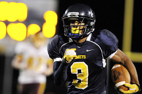 Catonsville senior running back DeAndre' Lane is one of the area's offensive players to watch this fall.