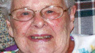 Charlotte Ruth Bowlby, 87, of Carlisle, passed away at her home on Tuesday, Aug.  28, 2012. Born March 15, 1925, in Garrett, she was the daughter of the late Samuel S. and Mary (Orndoff) Walter. Charlotte was also preceded in death by an infant daughter; infant grandson Jesse McMaster; six brothers; and two sisters. She is survived by her husband of 70 years, Willard Frank Bowlby; daughters Loretta Snyder and husband William of Carlisle and Linda McMaster and husband Richard of Sligo; grandchildren Jeffrey Snyder and wife Angela of Carrollton, Va., Jennifer Cox and husband Terry of Shippensburg, Eric McMaster and wife Kimberly of Richmond, Va., and Carrie McMaster of Miami, Fla.; and great-grandchildren Aaron Cox and wife Megan, Matthew and Andrew Snyder, Jacob Cox, and Rivers McMaster.  Charlotte was a member of the Somerset Church of the Brethren and was retired from PNC Bank. Friends will be received from 1 p.m. until the hour of service at 2 p.m. Sunday, Sept. 2, 2012, at Miller Funeral Home and Crematory, Somerset, Rev. Roger Forry officiating. Interment at Rockwood IOOF Cemetery. In lieu of flowers, memorial contributions may be sent to Project Share of Carlisle at 5 N. Orange St. No. 4, Carlisle, PA 17013. Online condolences may be sent to www.millerfuneralhomeandcrematory.com.