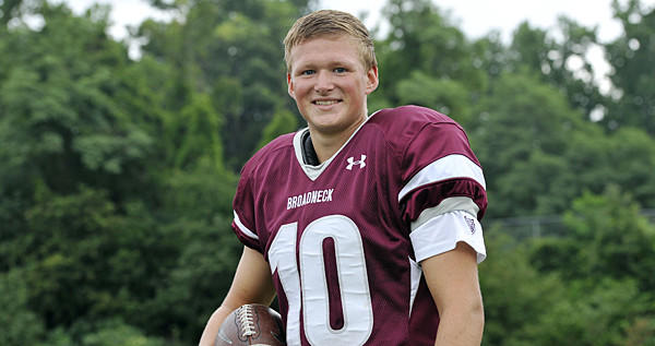 Broadneck kicker Adam Greene made a 55-yard field goal last year.