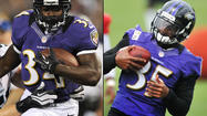 Running backs (4): Ray Rice, Vonta Leach, Bernard Pierce, Bobby Rainey