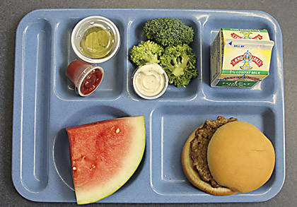 The menus at Aberdeen public schools and in the Aberdeen Catholic School System are changing to include more fruits and vegetables.
