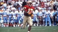 Former Florida State star quarterback Charlie Ward. Getty Images.