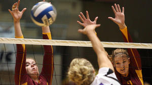 NSU volleyball preparing for big weekend at home