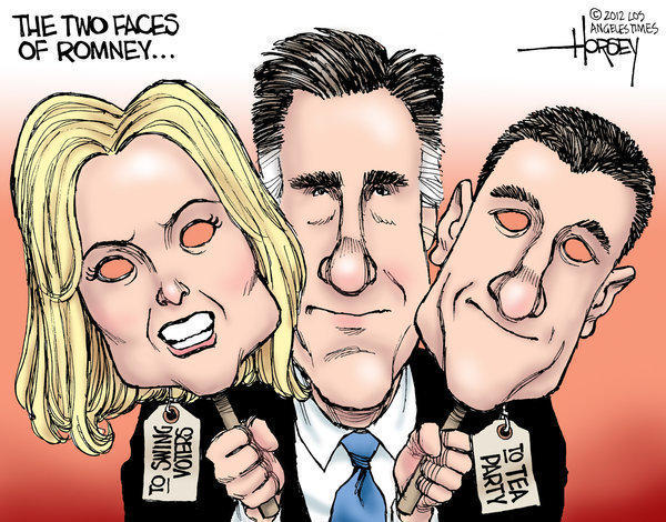 Ann Romney and Paul Ryan are the two faces of Mitt Romney
