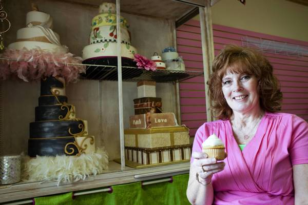 York County business owner Alice Cooke started her cake-making business in her home.