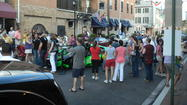 Little Italy is ready for the Grand Prix of Baltimore. Friday through Sunday, the neighborhood's main street will be will be converted into a pedestrian-friendly area, and restaurants will bring tables onto the street for al fresco dining. The affected blocks are on S. High Street, between Pratt and Stiles streets.
