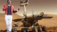 "The Mars rover has been exploring the red planet for a couple weeks now, so it's about time they got to the important stuff: playing dance music. The rover has beamed out its first song, and it's a tune by none other than Will.I.Am of the Black-Eyed Peas. Someone needs to explain to me why they didn't choose David Bowie. Seems like the obvious choice. <a href=""http://www.usatoday.com/tech/science/space/story/2012-08-28/mars-rover-curiosity-william/57385482/1?sf5795395=1"" target=""_blank"">Here's more from USA Today</a>:"