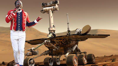 Mars Rover Plays New Will.I.Am Song