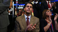 TAMPA, Fla. -- Wisconsin Gov. Scott Walker, who is something of a celebrity at the Republican National Convention this week, had a message today for the Maryland delegation: Take heart.