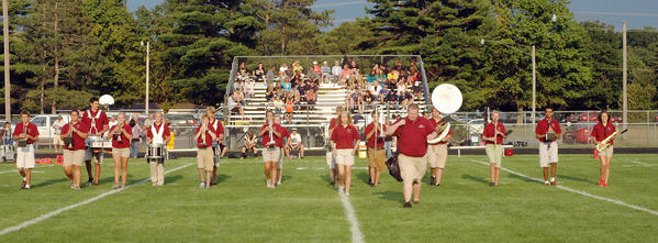 Charlevoix welcomes its new band director, Duane Willson.