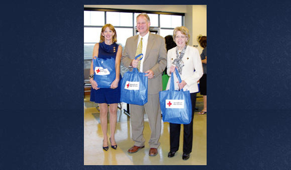 Colleen Sherman, Congressman Mark Critz and Dr. Barbara Cliff