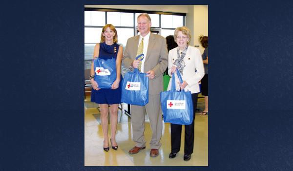Colleen Sherman, Congressman Mark Critz and Dr. Barbara Cliff