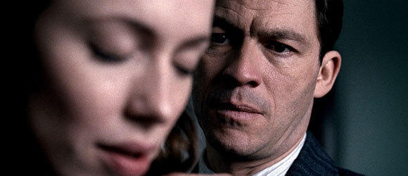 Rebecca Hall and Dominic West in The Awakening, set in England after the trauma of World War I.