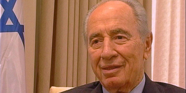 """Shimon Peres in a scene from """"Life is Strange."""""""