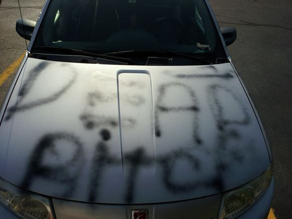 Cherry Hill activist Cleoda Walker's vehicle was vandalized Thursday