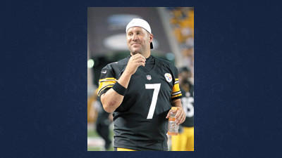 Pittsburgh Steelers quarterback Ben Roethlisberger walks the sideline during an NFL preseason football game against the Carolina Panthers in Pittsburgh, Thursday.