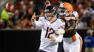 McCown throws for 2 TDs in Bears' 28-20 victory