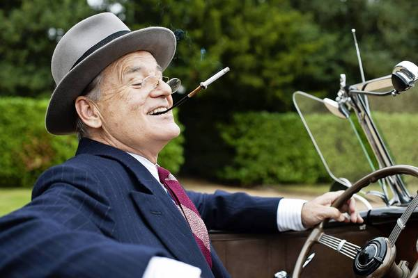 "Bill Murray as President Franklin D. Roosevelt in a scene from the ""Hyde Park on the Hudson."""