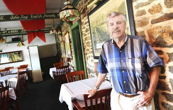King George Inn owner Cliff McDermott is closing his historic South Whitehall Township restaurant after 42 years.