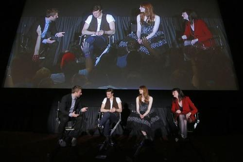 "Chris Hardwick interviews ""Doctor Who"" castmates Matt Smith and Karen Gillan and exec producer Caroline Skinner."