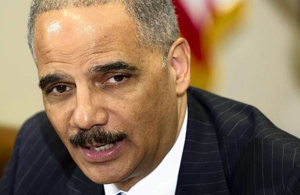 "U.S. Atty. Gen. Eric H. Holder Jr., seen in July, said Thursday that an investigation into the CIA's treatment of detainees did not find admissable evidence ""sufficient to obtain and sustain a conviction beyond a reasonable doubt."""