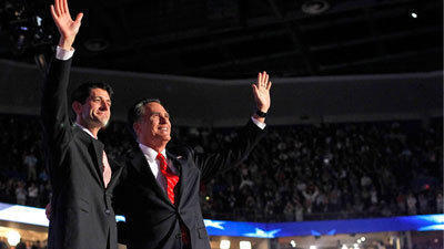 Romney pledges jobs and tells America: 'We deserve better'